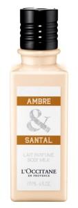 Lait Parfume AMBRE & SANTAL_L'Occitane