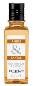 Shower Gel AMBRE & SANTAL L'occitane